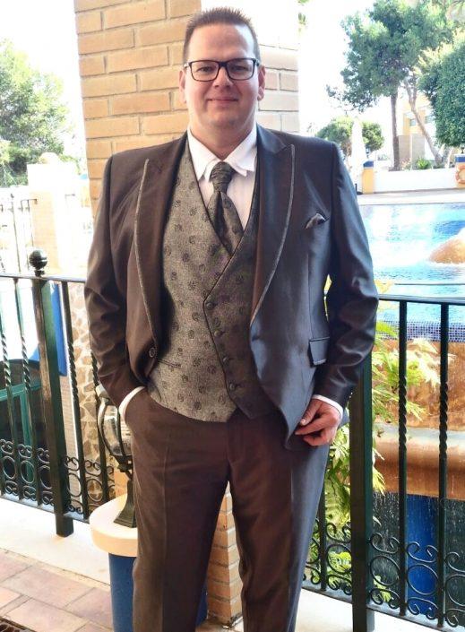 2016.11. Mark Kenn acompañante a una Boda en Torrevieja - Alicante