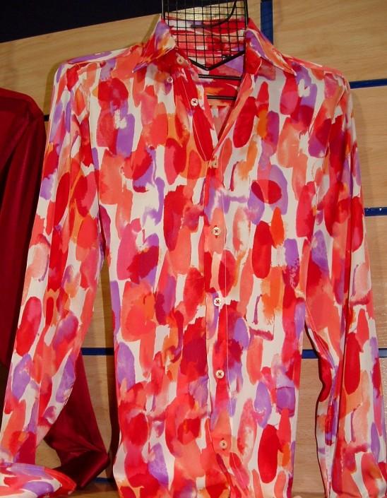 Camisa estampada, Jose Zaragoza moda hombre