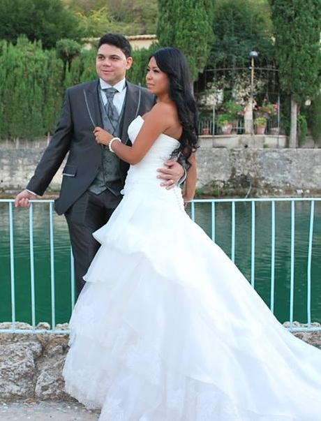 Carlos Peña - novio real vestido en Jose Zaragoza - Novios