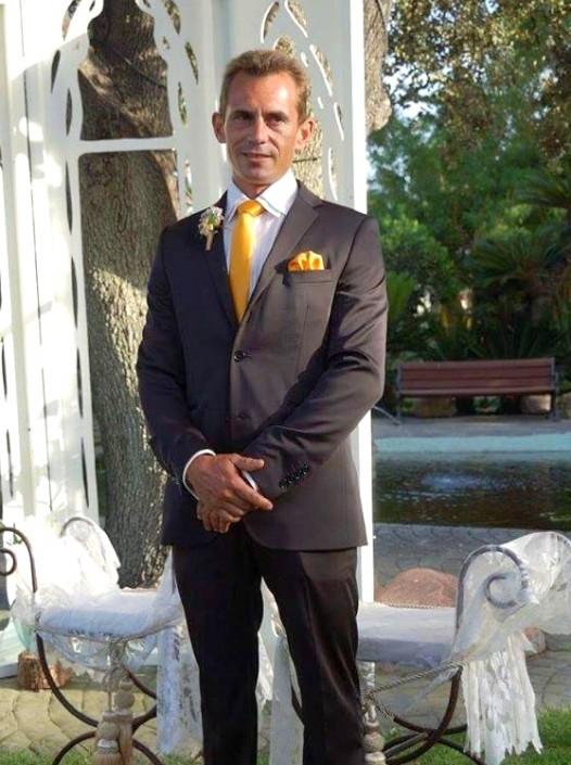 Novio casado el 2016.7.9 Pedro Luis Ruiz Carreras, Elche