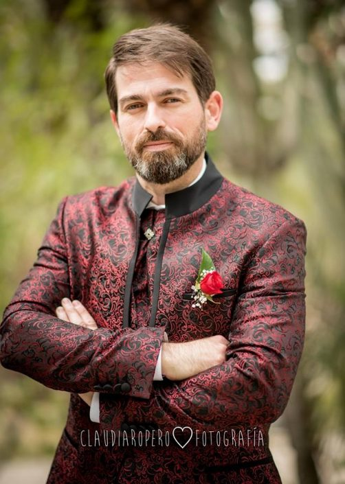 Novio casado el 2018.3.17 Fran Javier Villahermosa en Elche