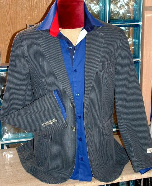 Americana gris fabricada en España - Jose Zaragoza moda hombre