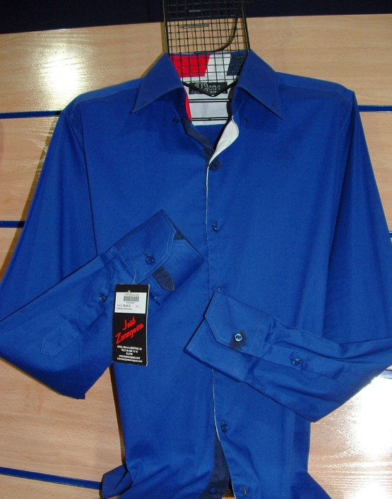 Camisa azul tinta, Jose Zaragoza moda hombre