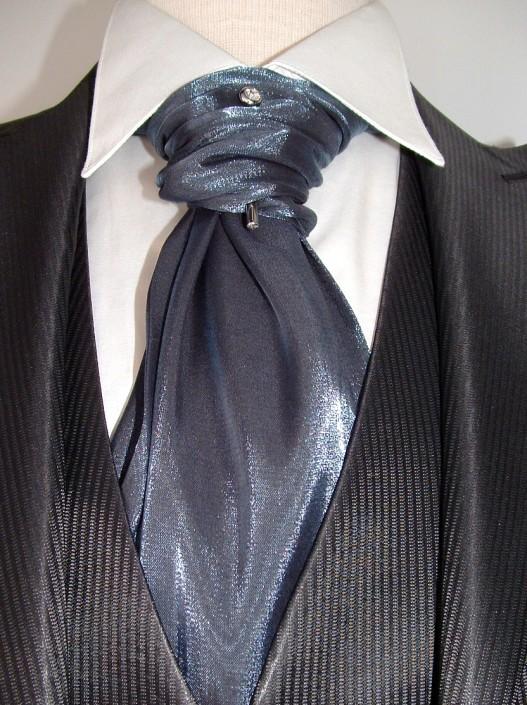 Corbanda brillo azul/gris, Made in Spain, Jose Zaragoza - Novios