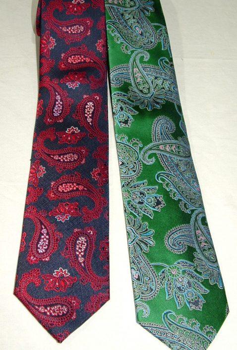 Corbatas diferentes colores y dibujos, Jose Zaragoza moda hombre