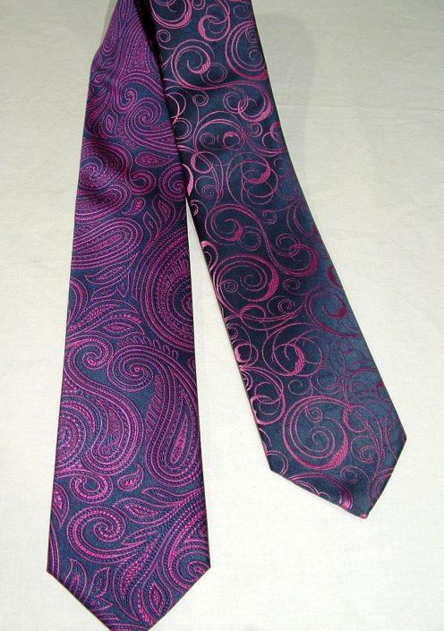 Corbatas lilas diferentes dibujos, Jose Zaragoza moda hombre