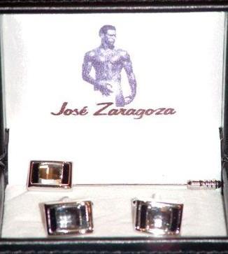 Gemelos rodio y alfiler, Jose Zaragoza - Novios